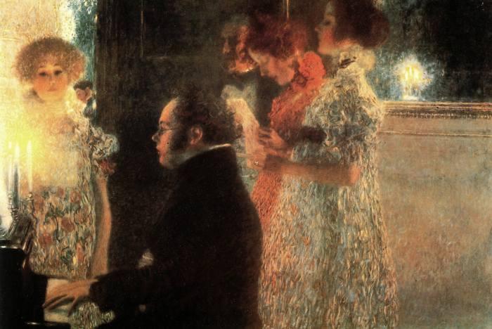 Schubert . Gustav Klimt .