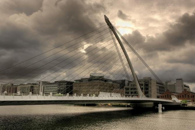 Samuel Beckett Bridge HDR Shane Murphy58
