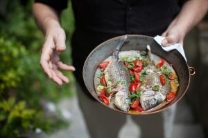 Aqua Pazza - fish and tomatoes