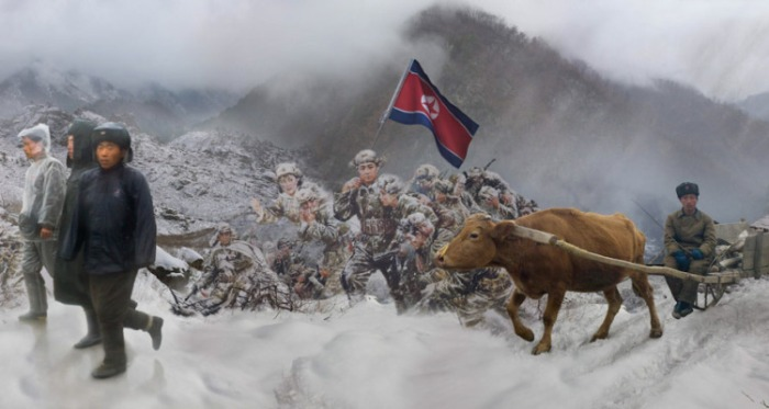 Epic of the Soldiers, North Korea, 2013-2014.