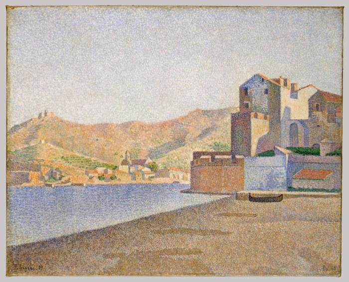 Paul Signac Collioure 1887
