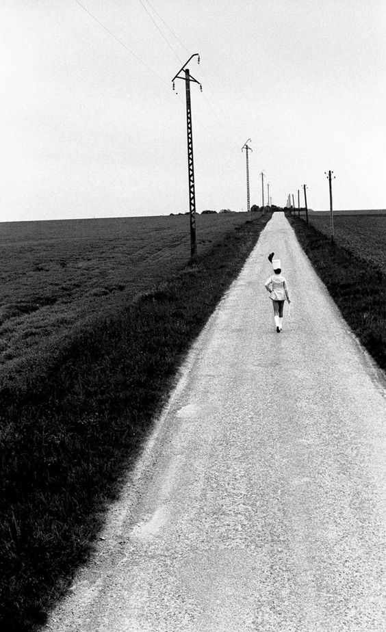 FRANCE: The Cheerleader Highway Pithiviers, France in 1973.